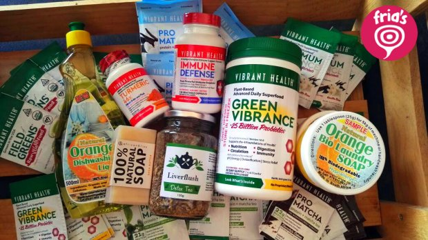 Vibrant Health Giveaway with Fria