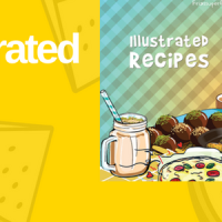 The Illustrated Recipes e-book